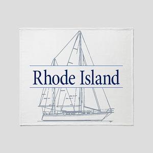 Rhode Island - Throw Blanket