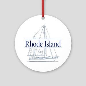 Rhode Island - Ornament (Round)