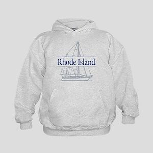 Rhode Island - Kids Hoodie