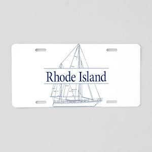 Rhode Island - Aluminum License Plate