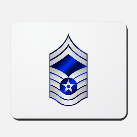 Air Force Senior Master Sergeant Mousepad