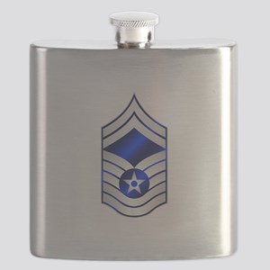 Air Force Senior Master Sergeant Flask