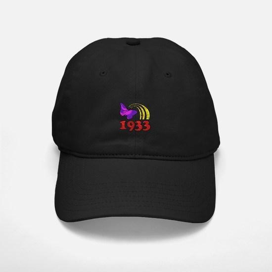 1933 Birthday (Colorful) Baseball Hat