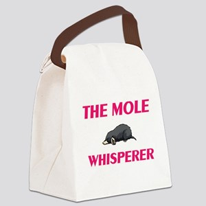 The Mole Whisperer Canvas Lunch Bag