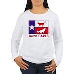 TexasCARESPocket Long Sleeve T-Shirt