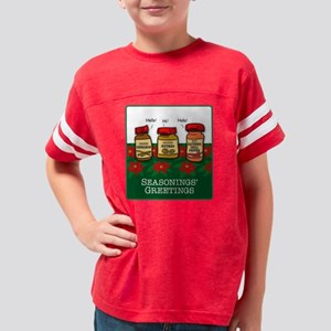 SeasoningsGreetK Youth Football Shirt