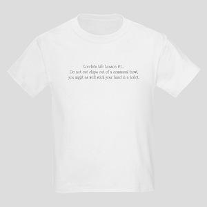 Lorelai's Life Lesson #1 Kids T-Shirt
