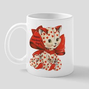 Cat- Happy Valentine's Day Mug