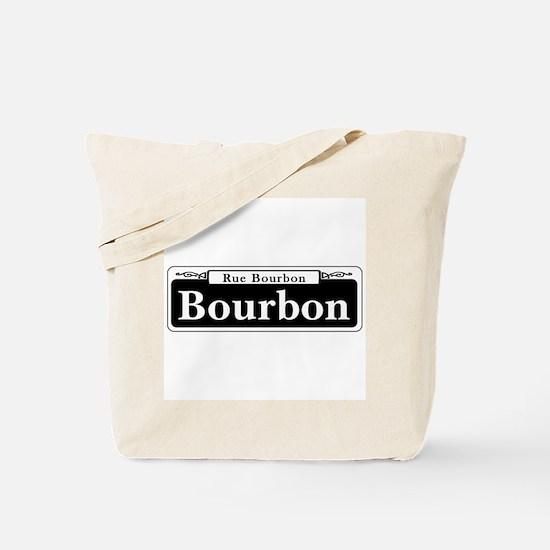 Bourbon St., New Orleans Tote Bag