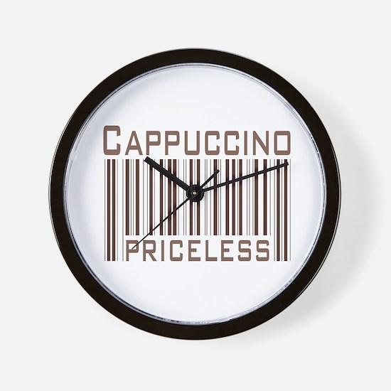 Cappuccino Priceless Wall Clock