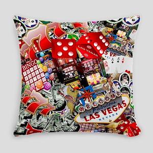 Las Vegas Icons - Gamblers Delight Everyday Pillow