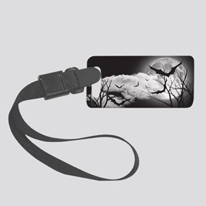 Bats in the Moonlight Small Luggage Tag