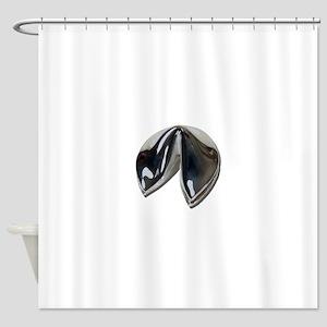 SilverFortuneCookie082111 Shower Curtain