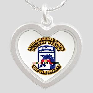 Army - DS - XVIII ABN CORPS - w DS Silver Heart Ne