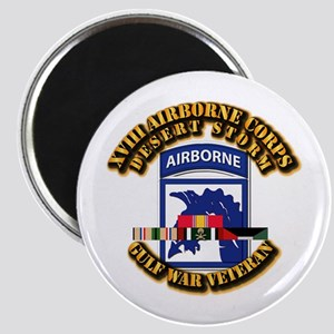 Army - DS - XVIII ABN CORPS - w DS Magnet