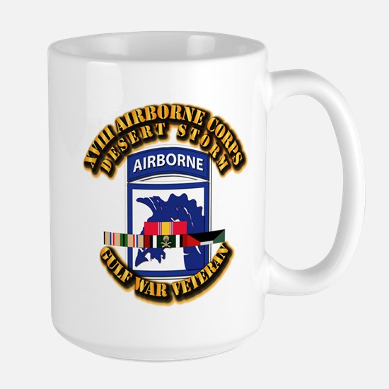 Army - DS - XVIII ABN CORPS - w DS Large Mug
