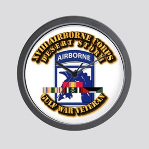 Army - DS - XVIII ABN CORPS - w DS Wall Clock