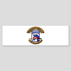 Army - DS - XVIII ABN CORPS - w DS Sticker (Bumper