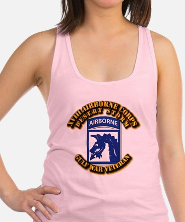 Army - DS - XVIII ABN CORPS Racerback Tank Top