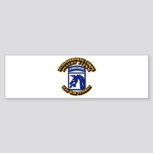 Army - DS - XVIII ABN CORPS Sticker (Bumper)