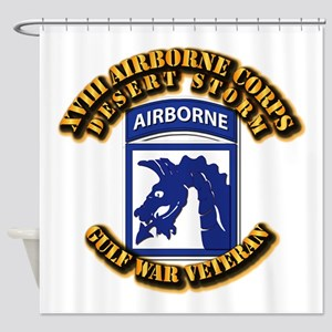 Army - DS - XVIII ABN CORPS Shower Curtain
