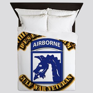 Army - DS - XVIII ABN CORPS Queen Duvet