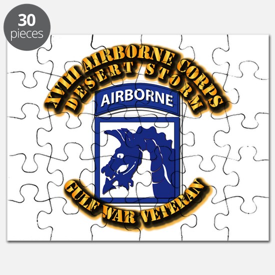 Army - DS - XVIII ABN CORPS Puzzle