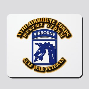 Army - DS - XVIII ABN CORPS Mousepad