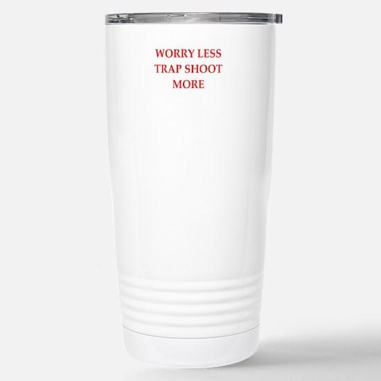 trap shooting Travel Mug