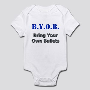 BYOB Bullets Infant Bodysuit