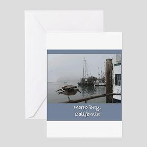 Morro Bay CA Greeting Card