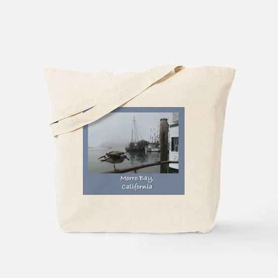Morro Bay CA Tote Bag