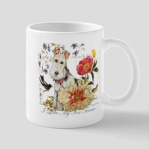 Fox Terrier Garden Mugs