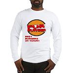 Fur Burger Long Sleeve T-Shirt