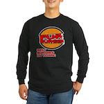 Fur Burger Long Sleeve Dark T-Shirt