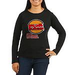 Fur Burger Women's Long Sleeve Dark T-Shirt