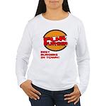 Fur Burger Women's Long Sleeve T-Shirt