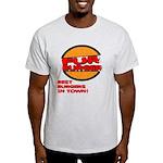 Fur Burger Ash Grey T-Shirt