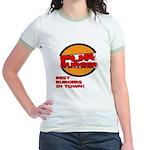Fur Burger Jr. Ringer T-Shirt