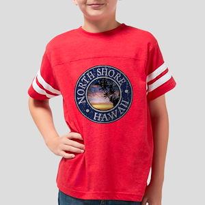 North Shore, HI - Distressed Youth Football Shirt