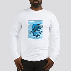 Blue Betta Long Sleeve T-Shirt