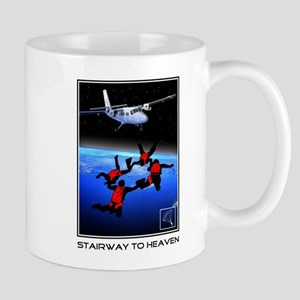 Stairway to Heaven Skydiving Mug