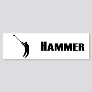 Hammer Bumper Sticker