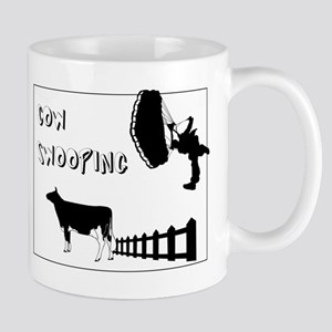 Cow Swooping Skydiving Mug