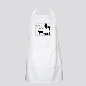 Cow Swooping Skydiving BBQ Apron