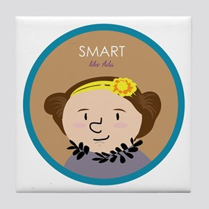 Smart like Ada Lovelace Tile Coaster