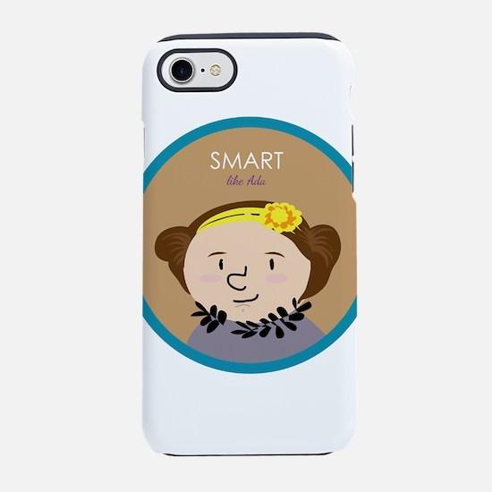 Smart like Ada Lovelace iPhone 7 Tough Case