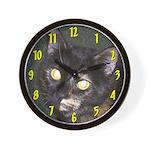 Dark Tort Wall Clock