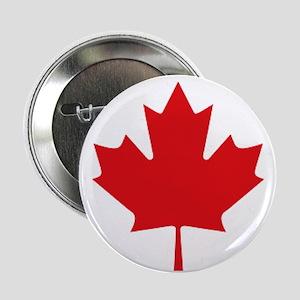 "Canada National Flag 2.25"" Button"