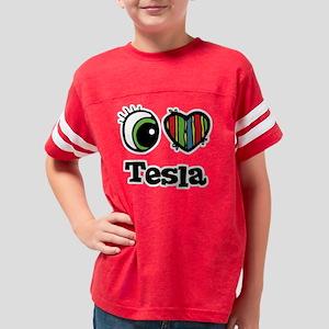 tesla Youth Football Shirt